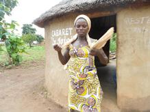 un cabaret de tchoucoutou dans le nord Bénin