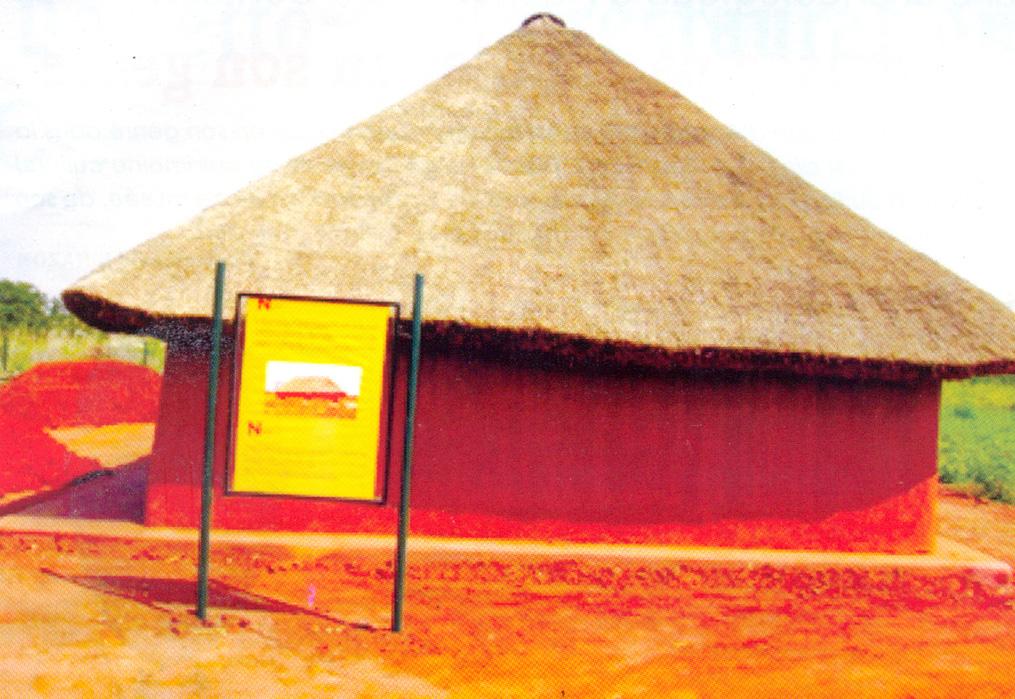 Le parc archéologique d'agongointo à Bohicon au Bénin