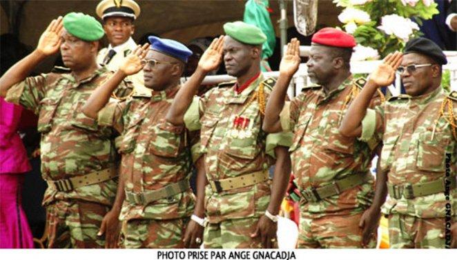 Des officiers supérieurs béninois