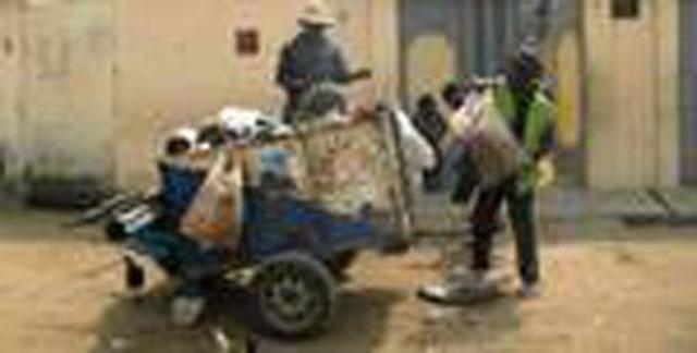 Pré collecte des ordures ménagères