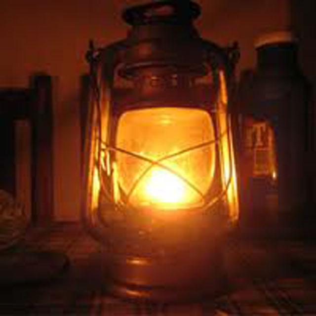 Une lampe tempête