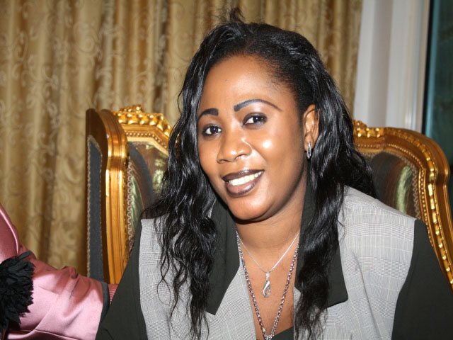 Chantal Djotodia, Première dame de la Centrafrique