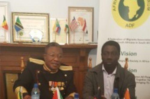 Article : AFRIQUE DU SUD/DIASPORA AFRICAINE  Le Roi Mthimkhulu III soutient la cause des migrants africains